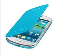 High quality flip leather PU cases For Samsung Galaxy S3 mini i8190 fashion design trendy 10pcs/lot