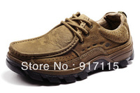 High quality ! Camel New men's Outdoor Sneaker ,Genuine leather rubber sole,hiking boots,Casual shoes,Size 38-44+Free shipping