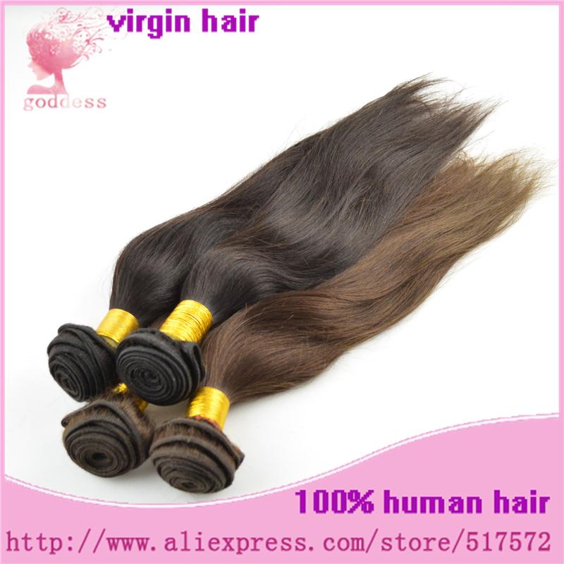 4pcs lot 5A Peruvian Virgin Hair Straight Hair Queen Weave Rosa Hair Products 100%human hair extension color #1b Free Shipping(China (Mainland))