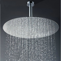 Huge Round 20 Inch Stainless Steel Rainfall Shower Head For Bathroom ck096