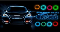 Free shipping Car decoration atmosphere multi-purpose indoor cool light multicolor choice/cold light lamp belt