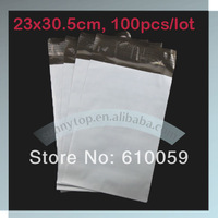 """Free shipping 9""""x12"""" (23x30.5cm) white envelopes poly mailer plastic mailing bags"""