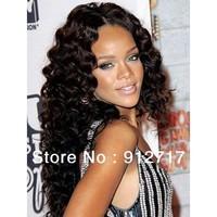 New fashion 2013 beauty u-part wigs,100 human water wave u-part wigs