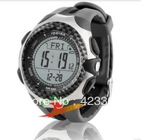 Brand Men Outside Watch Climbing compass altimeter Kpa Hpa Pressure test shockproof Men Fishing Watch waterproof 30m