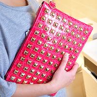 On Sale! New 2014 Women Retro Rivet Clutch Bag Shoulder Bag Envelope Bag Handbag