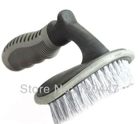 2013 new Car accessary Washing tools T word tire & floor board brush 3-D arc  wheel tyre for vehicle toolplastical qulity