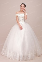 Guaranteed 100% Maternity Bra word shoulder strap Waist tutu dress plus size rhinestone  wedding dress wholesale are retail