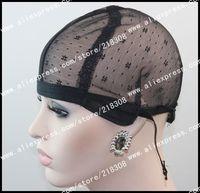 wig cap black cap Machine Made wig Weft back Cap inside inner caps net wig making wholesale  Supplier Size Medium