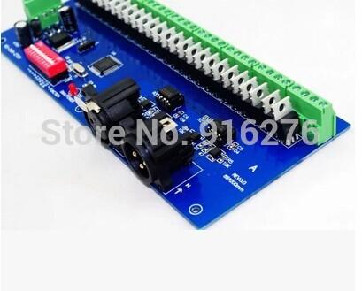 DMX RGB LED контроллер