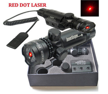635nm Red Dot Laser Sight Quick Detach 20mm Scope Mount Picatinny Weaver Rails Remote Switch Aluminum Alloy Hunting Accessories