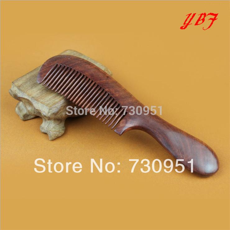Wholesale 18x5cm authentic Saffron pears wooden Antistatic massage comb wood professional hair brush boutique for women(China (Mainland))