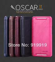 Kalaideng Oscar II Series PU+Microfiber Ultra Thin Flip Leather Case For HTC ONE M7 With Retail Package Fast Freeship