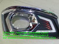 Chromed LED Daytime Running Light/DRL For Toyota Fortuner 2012-2013 Free Shipping