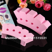 1set Pink Twist Styling Twisting Accessories Sponge Hair Clip Braider Braid Salon DIY Tool Beauty Maker Hairdressing Hotsales