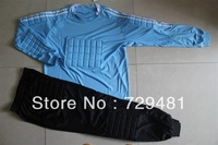Football goalkeeper clothing goalkeeper clothes lungmoon set long-sleeve top trousers football jersey  free shippiong