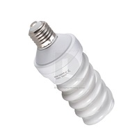New Photography 5500K 45W E27 Tricolor daylight Studio Fluorescent Bulb 220V~240V 015556 Free Shipping