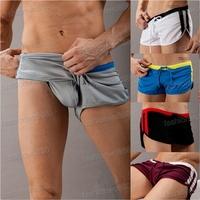 Hot Sale Leisure Men's Sports Underwear Sexy Shorts Swimming Trunks Tennis S,M,L,XL Free Shipping 1pcs/lot
