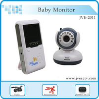 "2.4""TFT Wireless Digital Baby Monitor IR Video Talk one Camera Night Vision video/audio Baby Monitor for home  Free shipping"