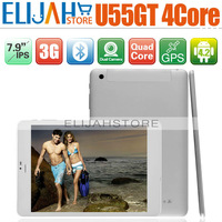 7.9'' Cube U55GT MTK8389 Quad Core built in 3G tablet pc IPS 1GB/16GB Dual Camera Bluetooth GPS FM WIFI Android 4.2