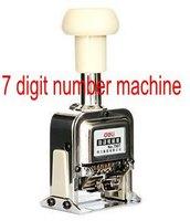 7 Digit Numbering Machine Number Stamp Machine