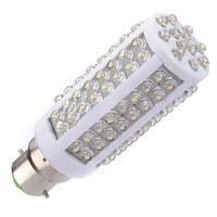 Hot Saling NEW PROMOTION HOT Selling NEW B22 Cool White 108 LED Light 7W 360 Ultra Bright Corn Bulb Lamp 220V Free Shippng