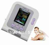CE FDA Approved Contec CONTEC08A Digital Blood Pressure Monitor+Pediatric Cuff+Child SpO2 Probe