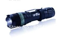 Lanterna Led 808 Long-range Focus Led Flashlight Support Charging 1X18650