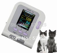 CE FDA CONTEC08A Digital Blood Pressure Monitor+6-11cm Cuff+Vet SpO2 Probe