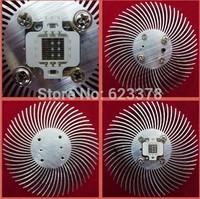 2014 Real New Lot8 Round/circular Aluminium Diy Led Heatsink Cooling for 10watt High Power Panel-- free Shipping with Tracking