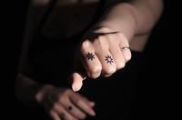 10 different kinds Free shipping Temporary tattoo body art Flower tattoo Waterproof tattoo sticker  man Women tattoo
