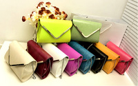 Free Shipping 2013 New  Fashion Envelope Bag Women's Handbag Designer  Messenger Bags Clutch Bag For  Women