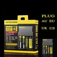 NITECORE SYSMAX Version 2.0 Universal Intellicharger i4 Battery Charger For 26650/22650/18650/17670/18490/17500 Battery
