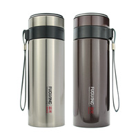 400ml double wall stainless steel vacuum flasks.put in your car or office,Keep warm and Keep cold.For Brew up tea