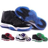 free shipping  wholesale j 11 men's Basketball shoes,jd 11 sport shoes,J11 Training shoes Size:41-47,many color