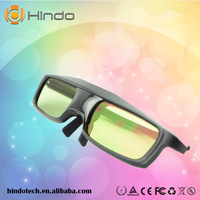 Universal 3D TV glasses black