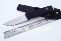 Hot Sale!! Sweden FallKniven F1 Survival Hunting Fixed Knives,440C Blade Rubber Handle Camping Knife.