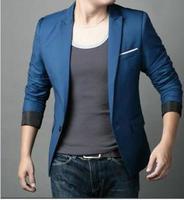 2014 Fashion Brand New Top Quality Single-button Blazer Men Suit Casual Jacket For Man Large size 3XL 4XL