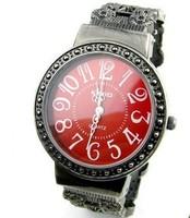 Kimio Fashion Women Ladies' Carve Patterns Bronze Wrist Watch Bracelet Watch , Women Dress Watches,Men Quartz Watch