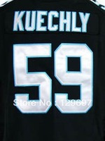 wholesale! Free Shipping #59 Luke Kuechly  Men's Game Football Jersey,Embroidery and Sewing Logos,Size S--3XL Cant Mix Order