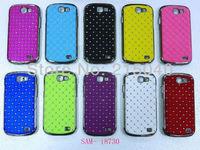 Free Shipping! High Quality Plating Bling Star Crystal Diamond Rhinestone Hard Case for Samsung Galaxy Express i8730, SAM-084