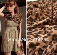 (Buy 5 get 1 free)!!!Large U-shaped chiffon leopard scarf leopard scarf female shawl,Wholesale,Free shipping