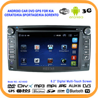 2013 New!Android Car dvd player GPS for KIA CERATO/KIA SPORTAGE/KIA Sorento With GPS Radio,Bluetooth,USB/SD+Support Wifi 3G