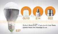 2014 Promotion Hot Sale Ce Rohs 3 Pcs Led Lamp E27 Led Bulb Lamp Dimming Bubble Ac85 - 265v, Warm / Cool , 3 * + Free Shipping