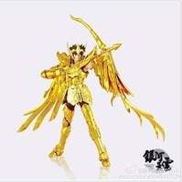 "2014 promotion seconds kill 5-7 years no minions anime brinquedos free shipping saint seiya myth cloth ex ""sagittarius aiolos"""