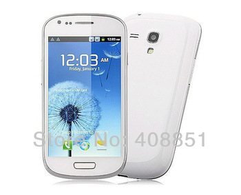 "Cheapest dual core phone New I8190 mini S3 original S9920 MTK6577 Dual-Core Android 4.1 4.0"" Touch Screen 3G GPS WIFI in stock!"