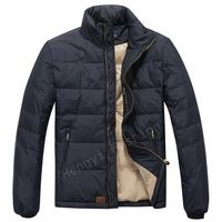Brand men's quality POLO jackets down feather pading outdoor warm coat for men zipper winter parka thick down Parka XXL MP1201
