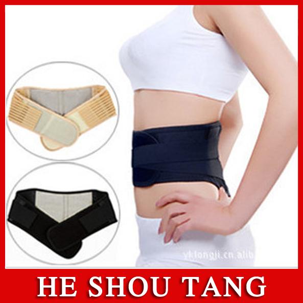 Free shipping!!Lumbar support/Steel support belt/Men and women lumbar disc herniation, lumbar pain,warm(China (Mainland))