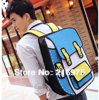2D 3D cartoon backpack popular styles COOL!!!! SEVEN STYLES TO CHOOSE