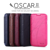 Original Galaxy S4 Luxury PU Leather Case KLD OSCAR 2 Leather Cover Cases For Samsung Galaxy S4 i9500 with Card Holder