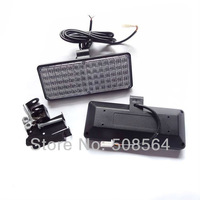 New Arrived High Brightness 70LED X 2 Car Strobe Light 12v Universal LED Flash Warning Light 140